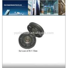 Roue de roue d'ascenseur Selcom 76X15