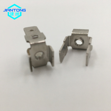 Precisie geperforeerde metalen producten gestempeld koperen connector