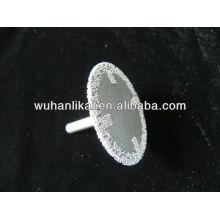 diamante de brasagem a vácuo