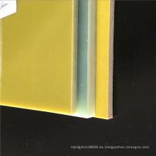 Hoja de tela de vidrio epoxi amarillo 3240