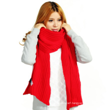 (LKN15031) Promotional Winter Knitted Scarf