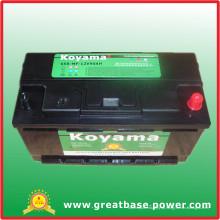 Sul - bateria de automóvel africana, 12V90ah auto que começa a bateria