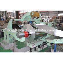 Máquina que raja de la bobina de acero de alta calidad