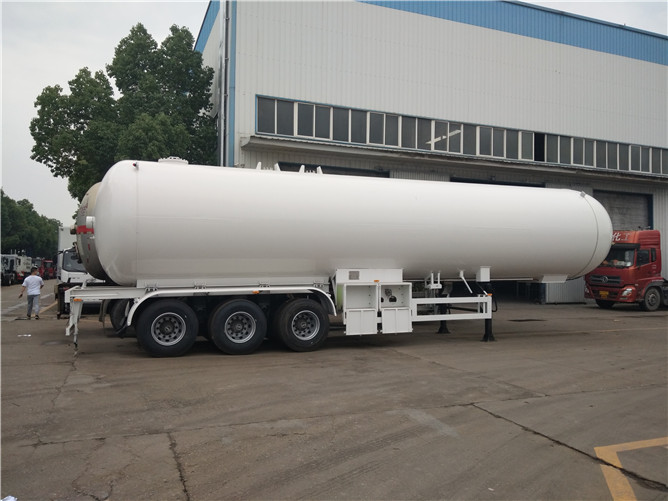 25 Ton LPG Transport Trailers