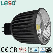 6W Showcasing éclairage MR16 LED Dimmable Spotlight
