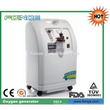 Gerador de oxigênio para uso médico e hospitalar para uso doméstico