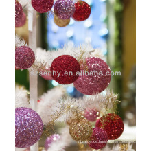 Weihnachtskugeln, Glitzer Styropor Weihnachtskugeln