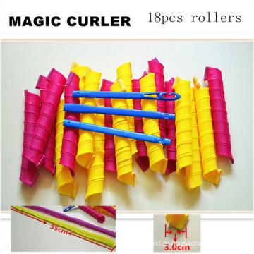 18PC / 55cm große magische Heverag-Haar-Rolle (Kopf-61)