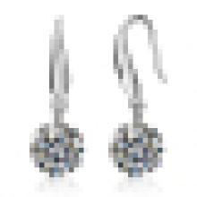 Boucles d'oreilles en argent sterling à la mode pour femme