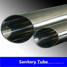 Tube sanitaire soudé en acier inoxydable A270 Bpe