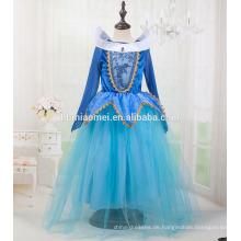 2017 Rosa und blaue Farbe Aurora Prinzessin Kleid mit günstigen Preis