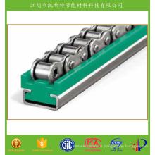 Guides de chaînes à rouleaux renforcés en fibre de verre