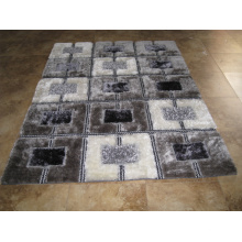 Factory Price Polyester Silk 3D Shaggy Carpets