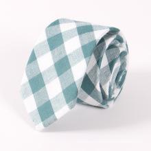 Classical Plaid Cotton Tie