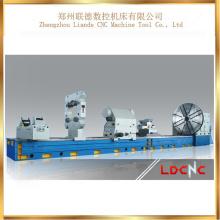 Máquina normal horizontal resistente do torno mecânico de C61400 China