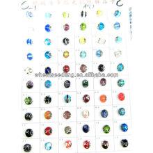 Vente en gros de perles de verre de Murano avec 925 Sterling Silver Core LS-137