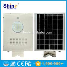 5w 8w 12w 20W 25w 30w 40w 50w 60w integrado luces de calle llevadas accionadas solares