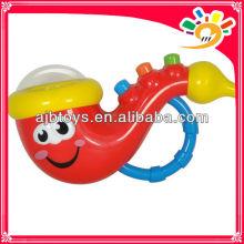 Batterie musikalisches Saxophon Spielzeug elektronisches Musikinstrument für Baby