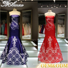 Tiamero chines patter formal dress women celebrity dress a line