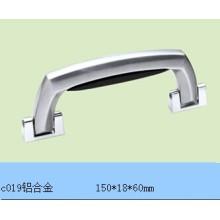Alça de alumínio para caixa de alumínio e caixa C019