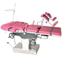 Promoviendo los instrumentos de ginecología Mesa de entrega hidráulica