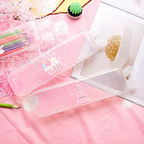 Transparent Ice Cream Pencil Case 2