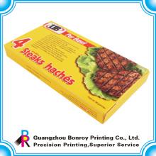 Caja de papel impresa de encargo del paquete del caramelo del arte