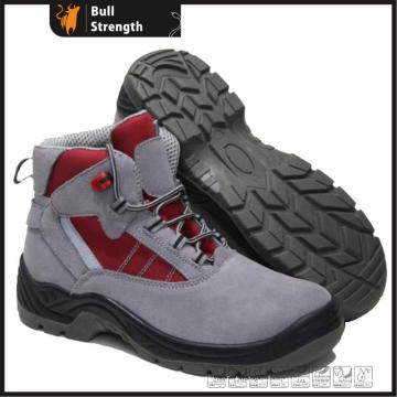 Industrial Leather Safety Shoes with Steel Toe and Steel Midsole (SN5308)