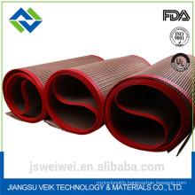 PTFE bullnose joint conveyor belt