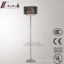 Chinese Supplier Metal Hollow Floor Lamp with Crystal Hanging