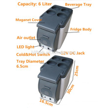 HF-600B (101) 12 V AC 220 V portátil mini hot vender carro e casa duplo uso legal e quente duplo usar carro geladeira (certificado CE)
