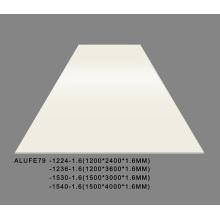 Building Board PVDF Matte Cream Aluminium Sheets