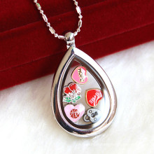Personnaliser Locket Necklace Jewelry Fashion Pendant