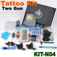 Neue bester Verkauf professionelle Tattoo Maschine Kit mit 2 Pistole