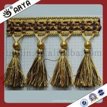 Handgemachte elegante Vorhang-Troddel, Vorhang-Ordnung, Vorhang-Franse für Vorhang, Sofa und Bettwäsche