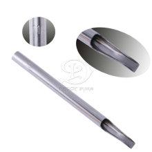 Elevado polimento aço inox 304 tatuagem longa ponta 11FT