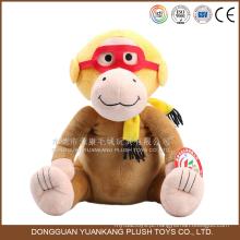 2016 ano novo itens venda quente macio carinho macaco brinquedo para menina