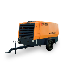 compresseur d'air de vis 13bar portatif à moteur diesel