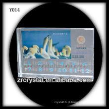 Cristal de foto de impressão colorida Y014