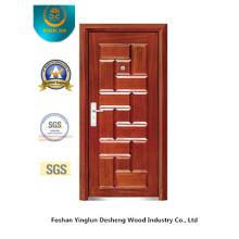 Porte en acier de sécurité de style de Fasion (b-3028)