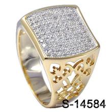 Изготовленные На Заказ Ювелирные Изделия Стерлингового Серебра 925 Мужчин Кольцо