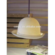 Lampe suspendue en porcelaine