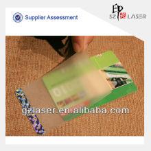 ATM klare Karte Tasche, Hologramm Wirkung wie florida ID-Karte