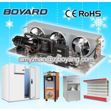 stockage de pièce froide de micro avec le compresseur commercial de congélateur de basse température unité de condensation de 1hp
