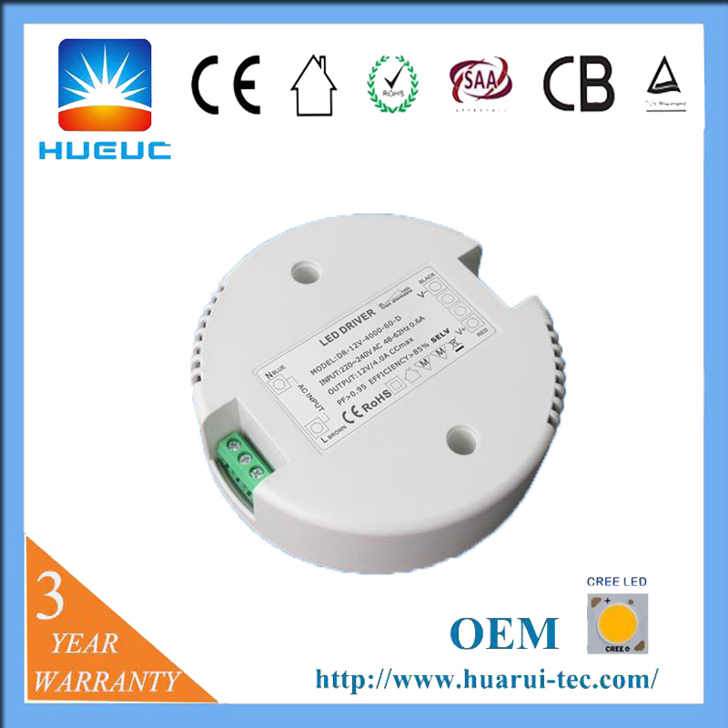 60w Round Led Driver