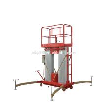 Две мачты электрическая гидровлическая воздушная Платформа деятельности/телескопичный трап электрический