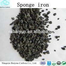 Polvo de hierro de precio competitivo / polvo de mineral de hierro / polvo de hierro esponja