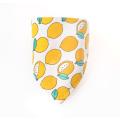 pet square triangle plain printed customized scarf triangle pet cat scarf/bandannas