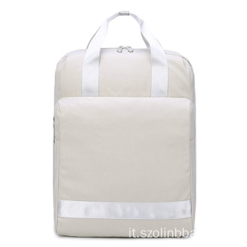 Borsa da viaggio per zaino da college Slim School Backpack