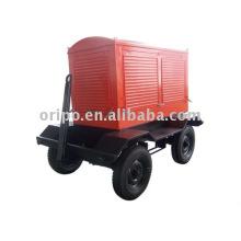 Maquinaria de contstruction conjunto de gerador de reboque com motor diesel Yangdong e alternador leadtech
